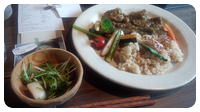 鶏肉と根菜のカレー
