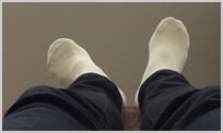 足の向き②