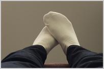 足の向き③