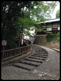 犬山城登り口